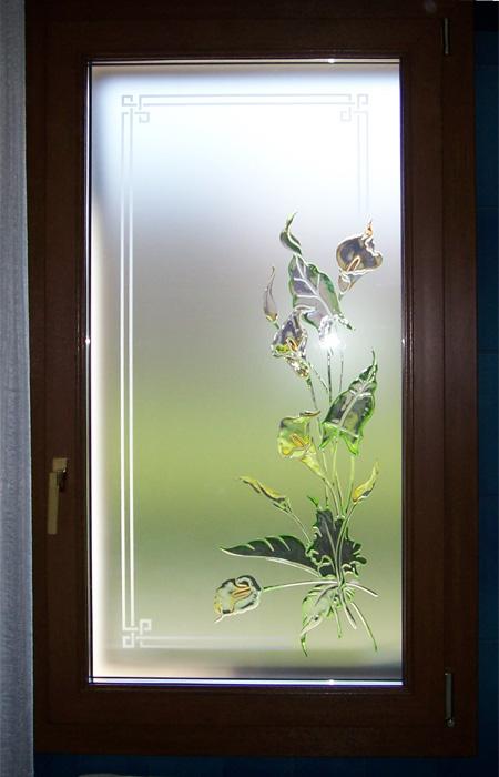 Disegni per vetri satinati yv15 pineglen - Vetri decorati per finestre ...