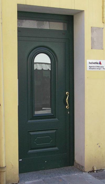 Serramenti in alluminio brunello loris 40 anni di - Sopraluce porta ...