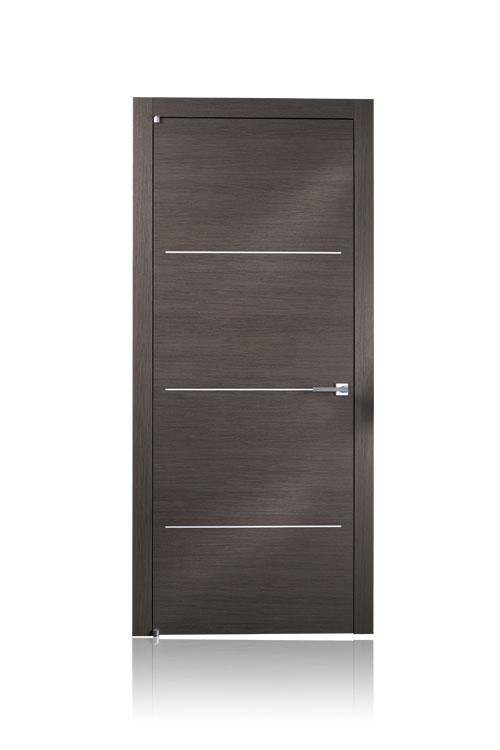 Porte Con Inserti In Alluminio : Porte in legno brunello loris dal costruzione e