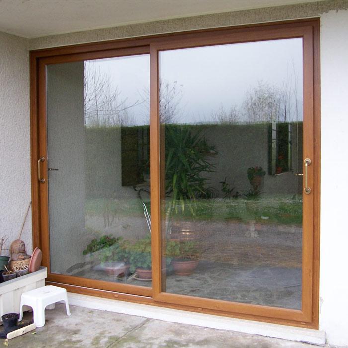 Serramenti in pvc brunello loris dal 68 costruzione e - Porta scorrevole alluminio ...