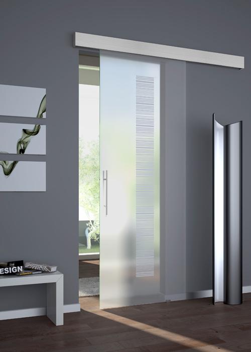 Porte d arredo interno brunello loris 40 anni di esperienza nella costruzione e - Porta scorrevole vetro prezzi ...