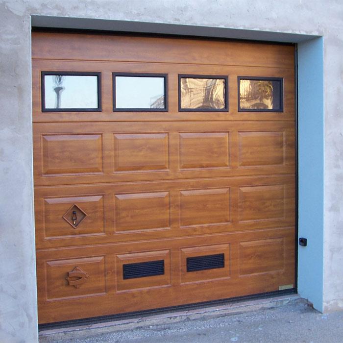Chiusure per garage e basculanti brunello loris dal 68 - Portoni garage con finestre ...